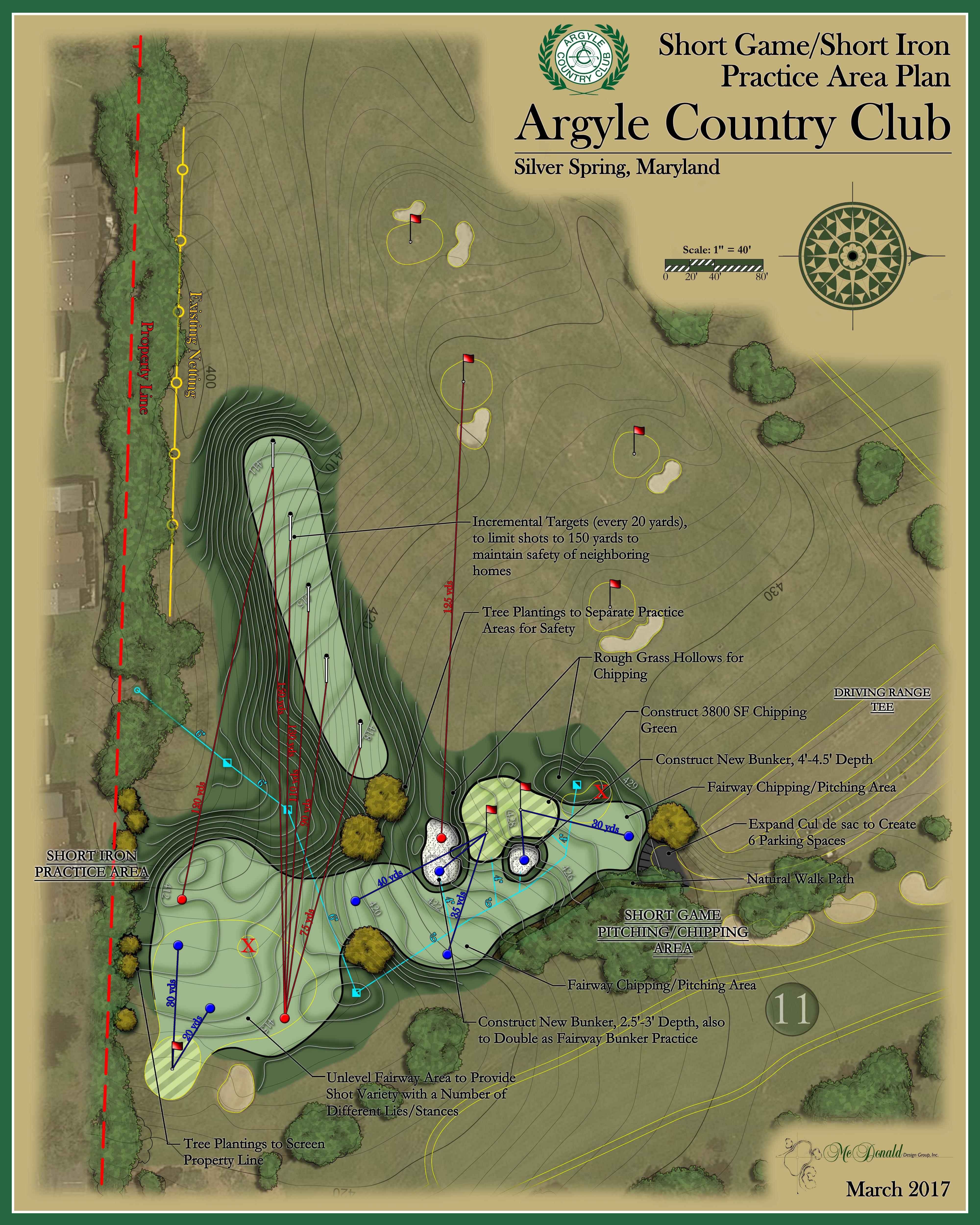 Argyle Country Club<br/>Practice Facility Design