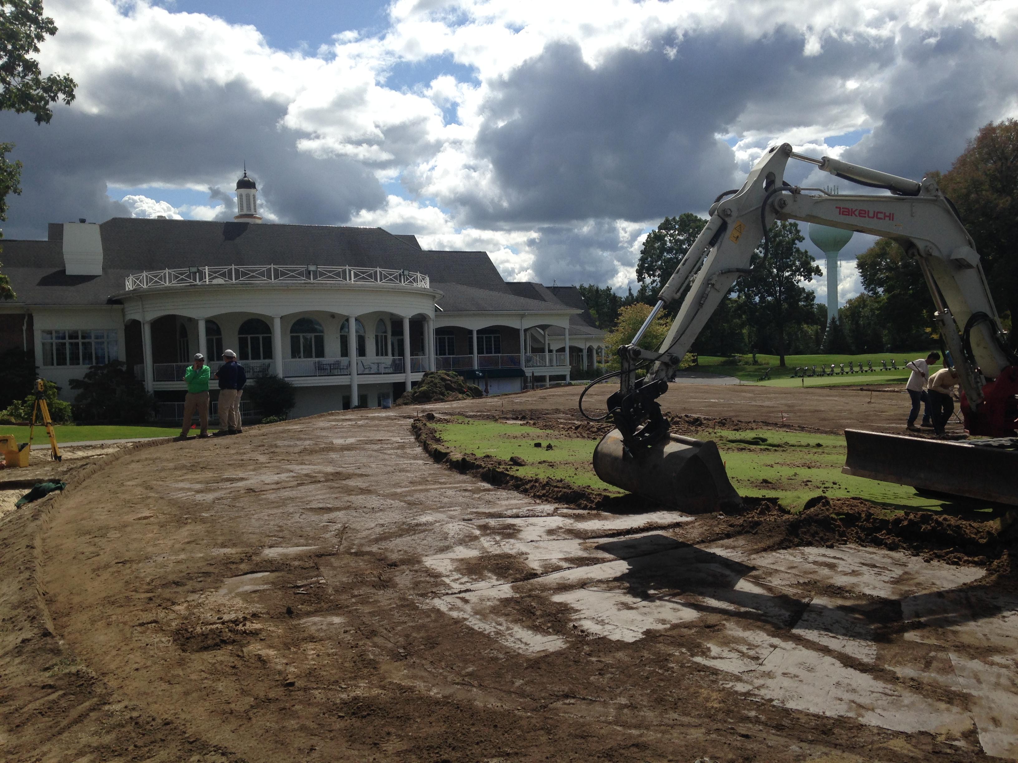 Barton Hills Country Club<br/>Green Renovation