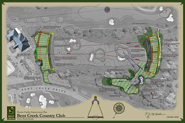 Bent Creek Country Club<br/>Practice Facility Design
