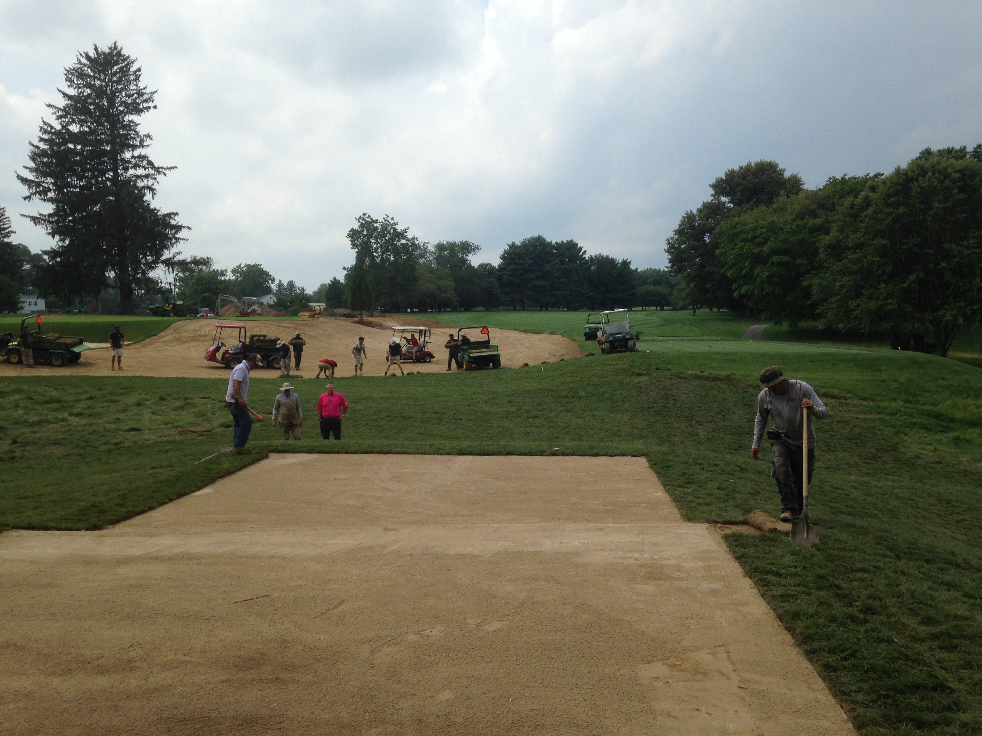 Country Club of Maryland<br/>Tee Improvements