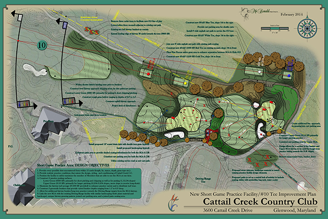Cattail Creek Country Club<br/>Practice Facility Design
