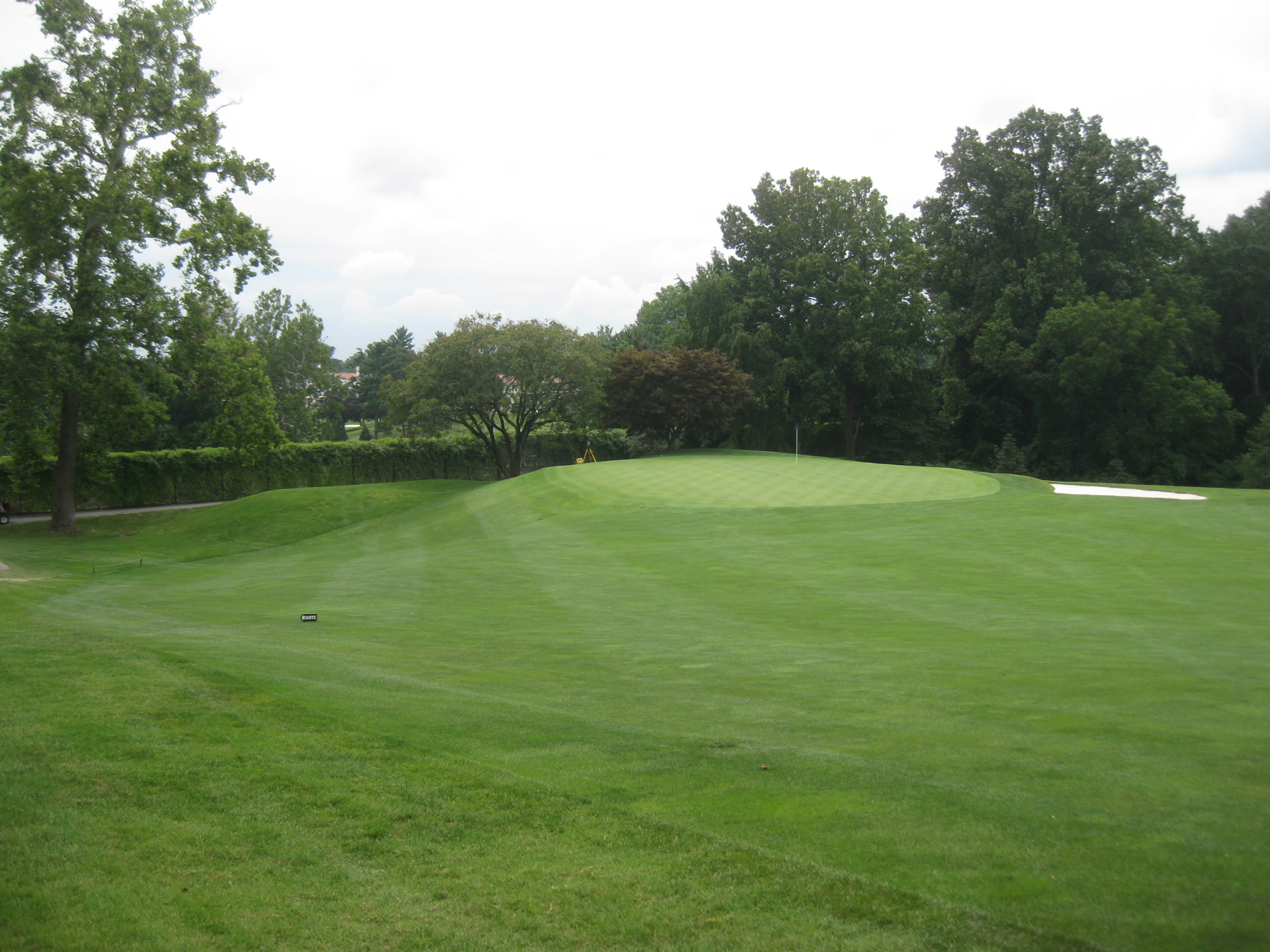 Columbia Country Club<br/>Green Surface Slope Analysis