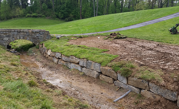 Columbia Country Club<br/>   Pond, Stream, & Wetland Construction