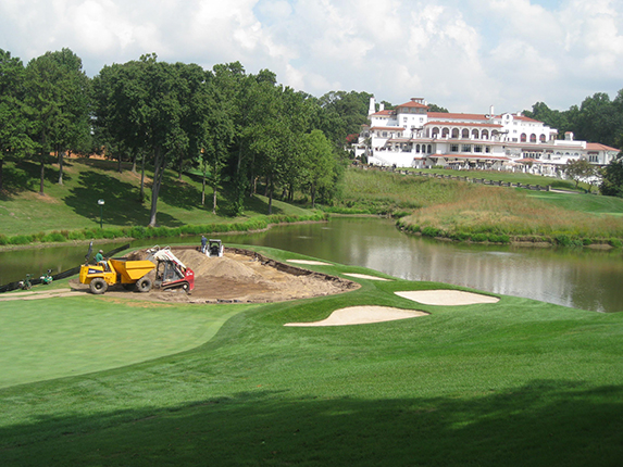 Congressional Country Club<br/>   Green Renovation
