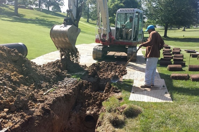 Country Club of Fairfax<br/>   Drainage