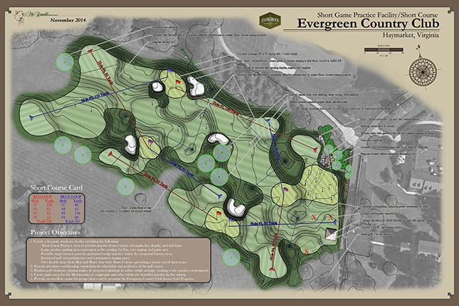 Evergreen Country Club<br/>Practice Facility Design
