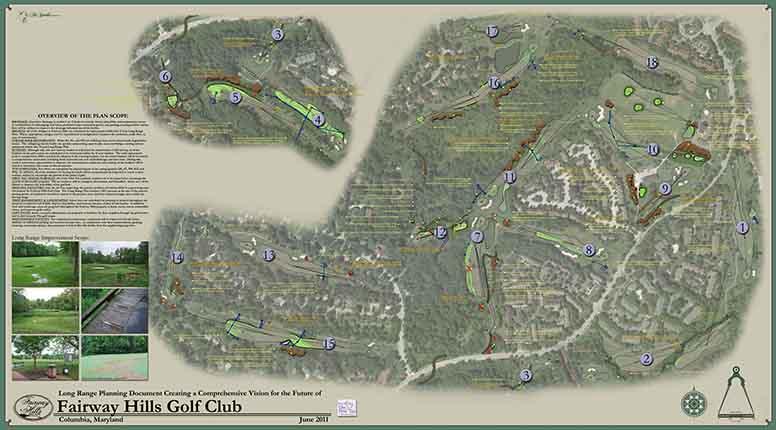 Fairway Hills Golf Club<br/>Course Infrastructure Plan