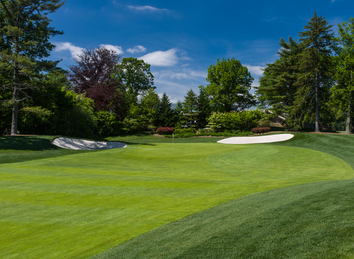 Glen Oaks Club<br/>Green Surface Slope Analysis