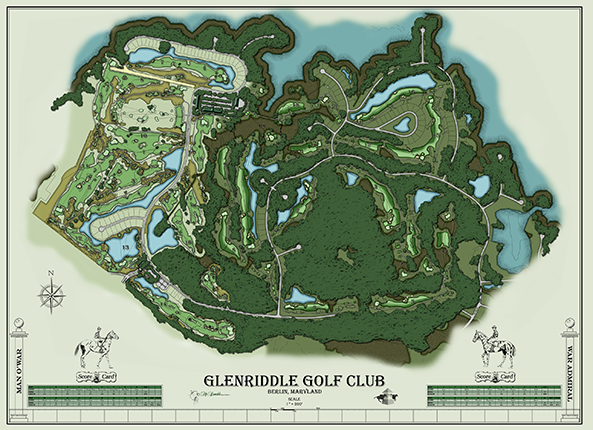 Glenriddle Golf Club- Man O' War<br/>New Course Design