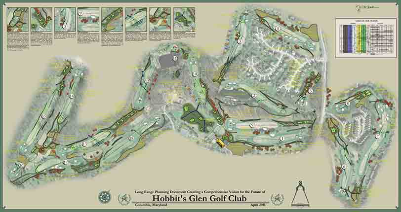 Hobbits Glen Golf Club<br/>Small Scale Course Improvements