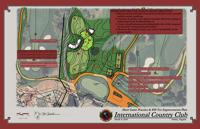 International Country Club<br/>Practice Facility Design