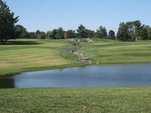 Kenwood Golf and Country Club<br/>Pond, Stream, & Wetland Construction