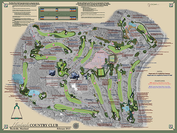 Norbeck Country Club<br/>Master Plan Improvements