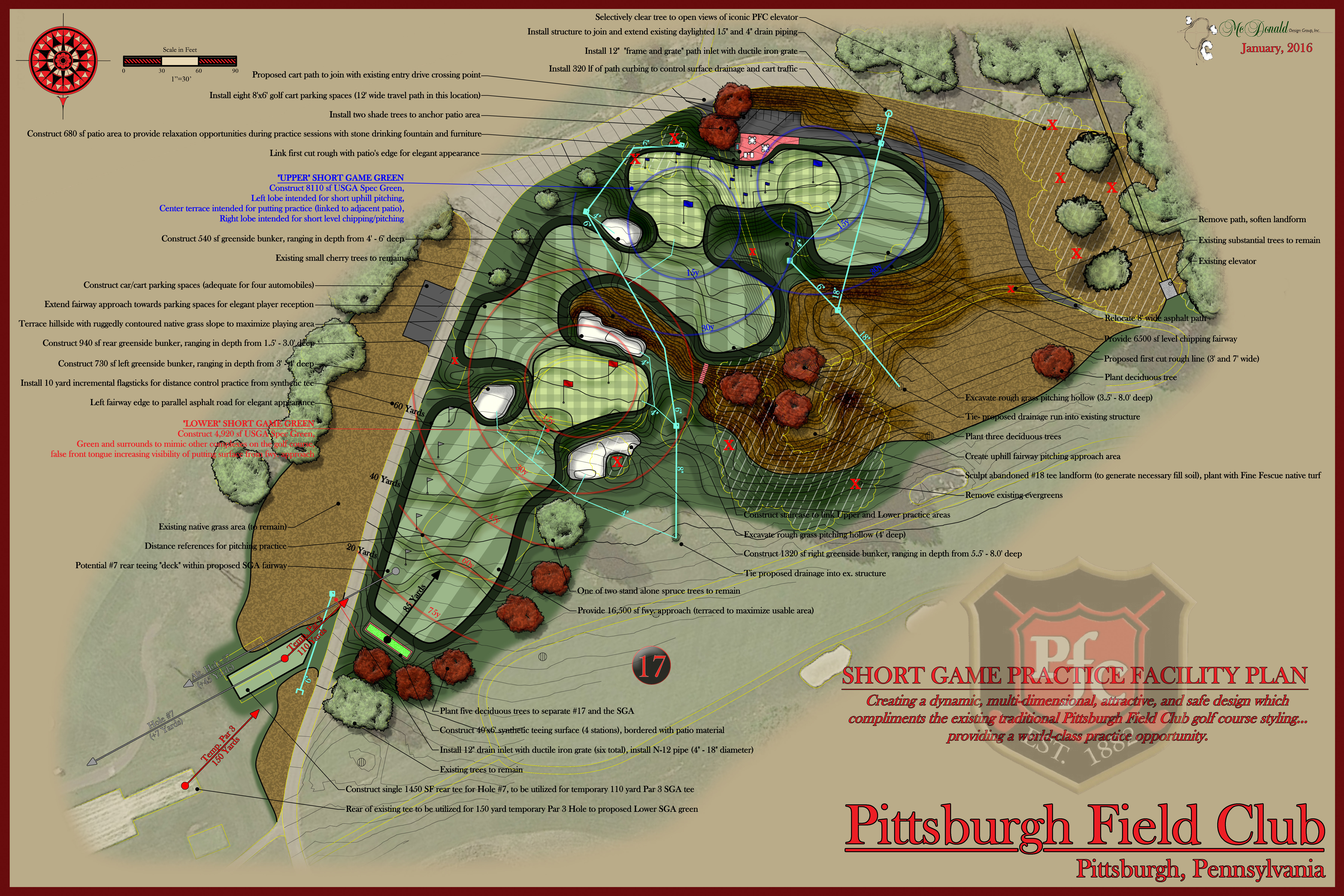 Pittsburgh Field Club<br/>Practice Facility Design