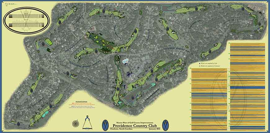 Providence Country Club<br/>Master Plan Improvements