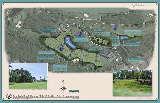 Rehoboth Beach Country Club<br/>Small Scale Course Improvements