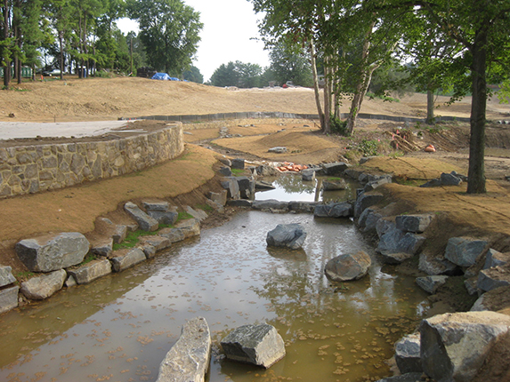 Riverbend Golf and Country Club<br/>   Pond, Stream, & Wetland Construction