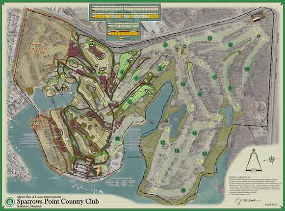 Sparrows Point Country Club<br/>Master Planning