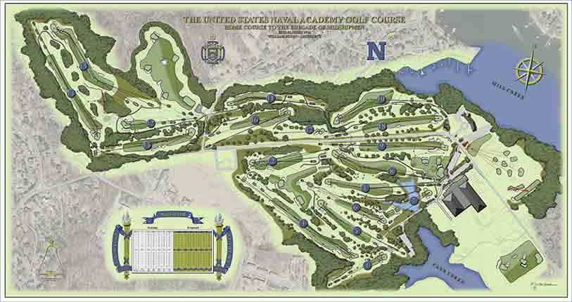 U.S. Naval Academy Golf Course<br/>Master Plan Improvements
