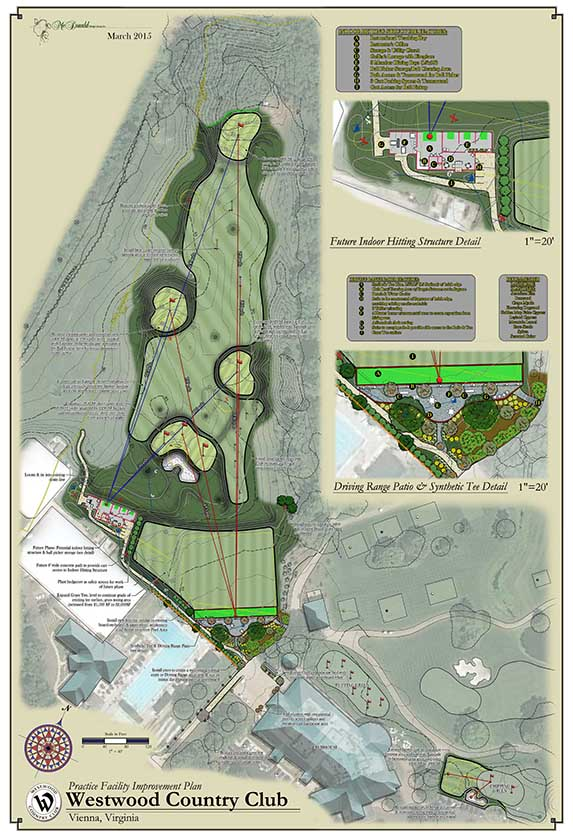 Westwood Country Club<br/>Practice Facility Design